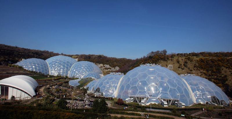 Spring Arrives At The Eden Project