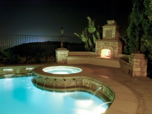 Antilla palace hot tub