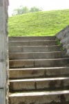 Stairs have different landings and even seats