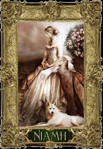 Queen Niamh Aiofe Daimhin O'Finn