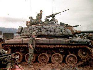 Vietnam War Era Tank