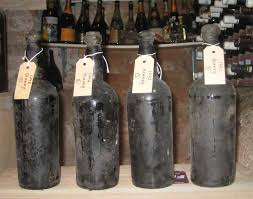 4 of 12 bottles of 1792 Madeira, the best the have in the secured cellar