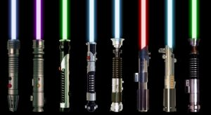 A few lightsabers