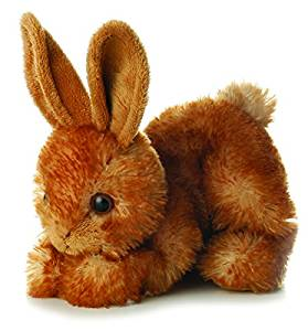 Ginger Hare stuffie bunny